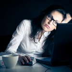 woman working late resize